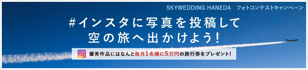 インスタに写真を投稿して空の旅手出かけよう!